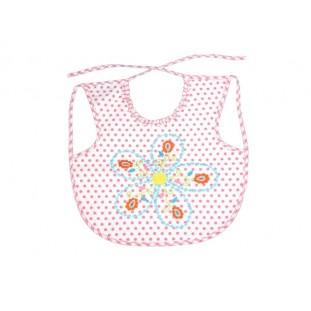 Babero de colores con flor Marca Room Seven para bebé