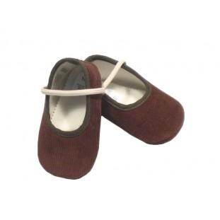 Zapato pana marrón