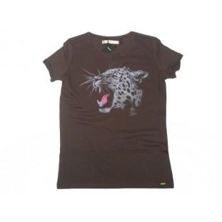 IKKS Camiseta leopardo