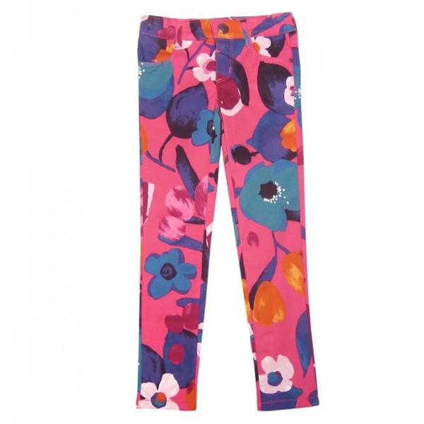 Pantalón rosa fucsia estampado de niña Marca Catimini