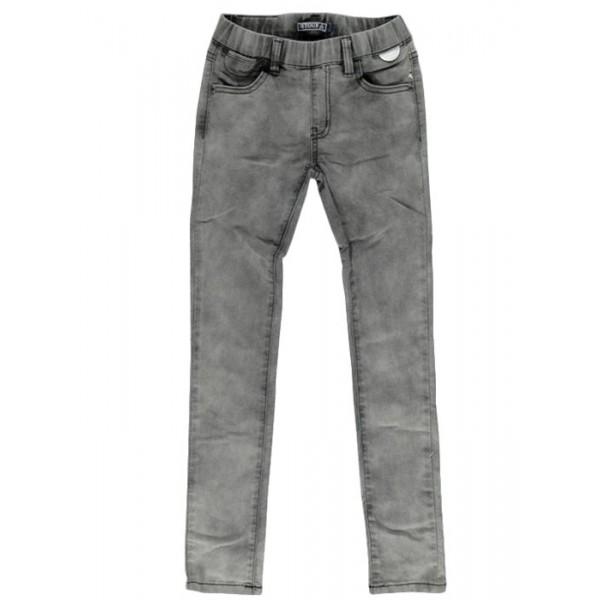 Legging tejano gris claro para niña Marca Retour