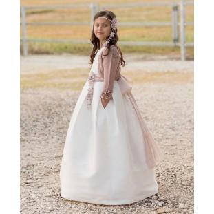 Vestido de comunión sin manga Magnífica Lulú