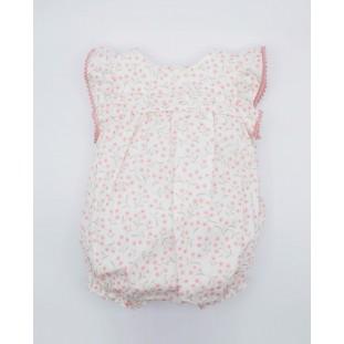 Pelele lorzas rosa de Fina Ejerique