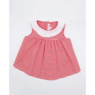 Vestido rayas rojas Fina Ejerique