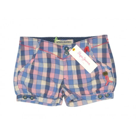 Pepe Jeans Short cuadros