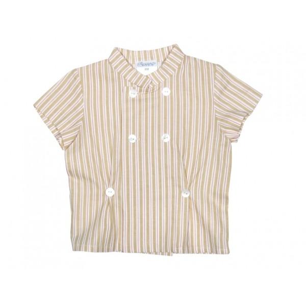 Ancar Camisa bebé rayas