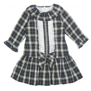 Vestido escocés de talle bajo para niña Marca Sprint