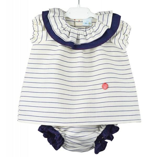 Jesusito marinero para bebé de la marca Paloma de la O