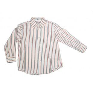 Camisa de rayas roja y azul para niño Marca Sprint