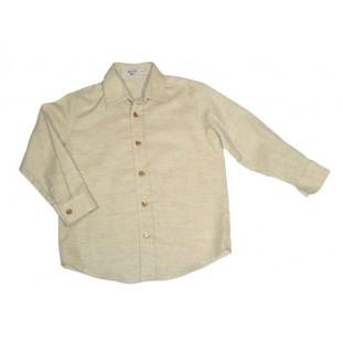 Camisa beige clásica para niño Marca Sprint