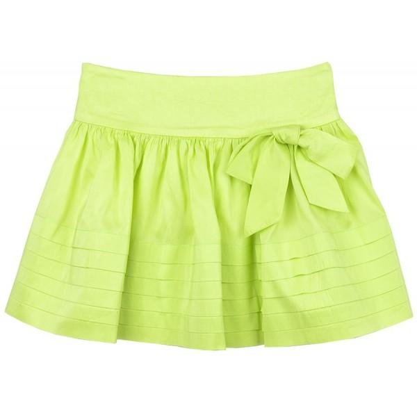 Falda verde pistacho de seda para niña de Sprint