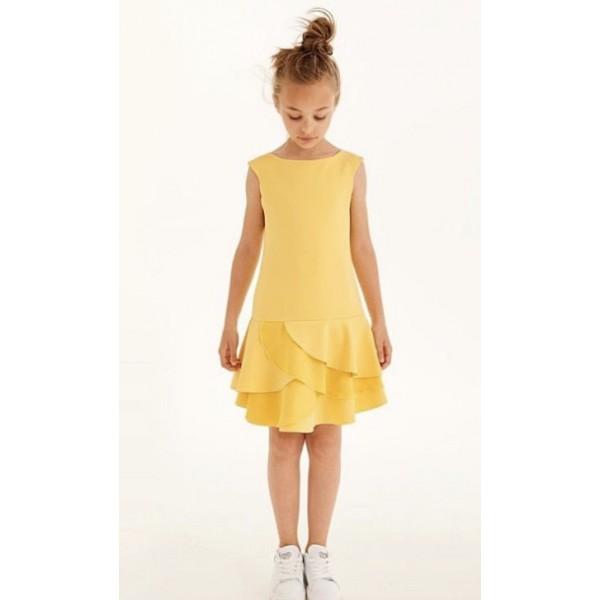 Vestido amarillo de Elsy